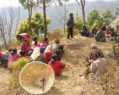 Basic sanitation instruction, Shivapuri