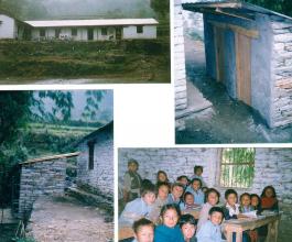 Barna School Latrine