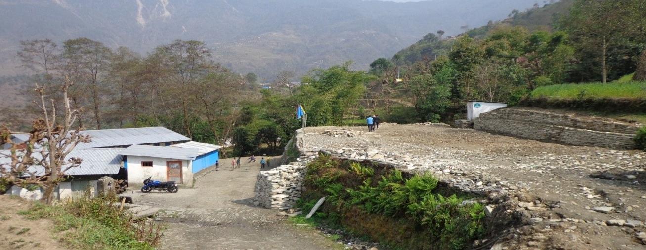 Sampada pad and retaining walls